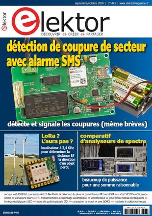 Elektor France N°473 - Octobre 2018 sur Bookys