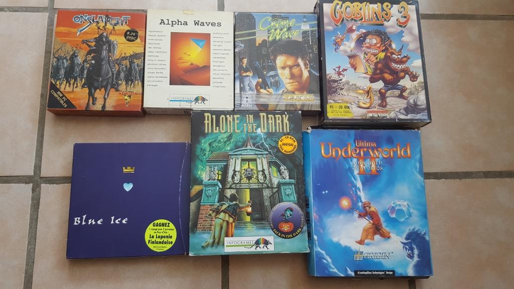 Vente ordinateurs et jeux Atari, Amiga, Amstrad et PC MAJ 20/01 02qP3