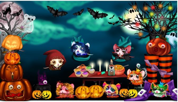 Défilé d'Halloween ... les pieds de sorcière !!!  07E98