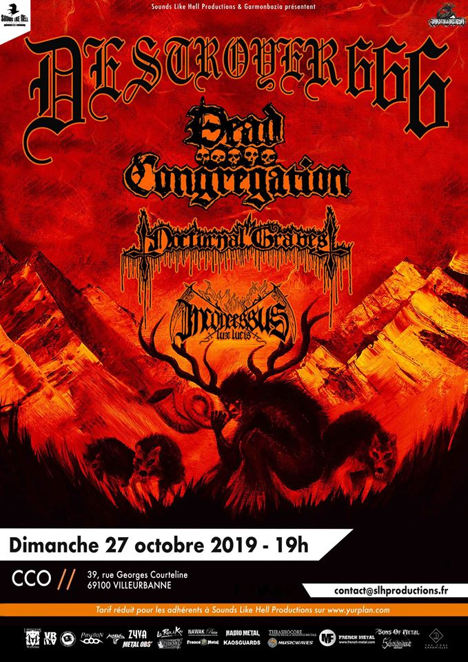 DESTROYER 666 [Lyon - 69] > 27-10-2019