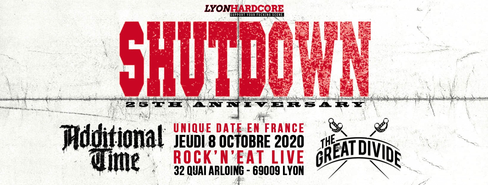 SHUTDOWN [Lyon - 69] > 08-10-2020