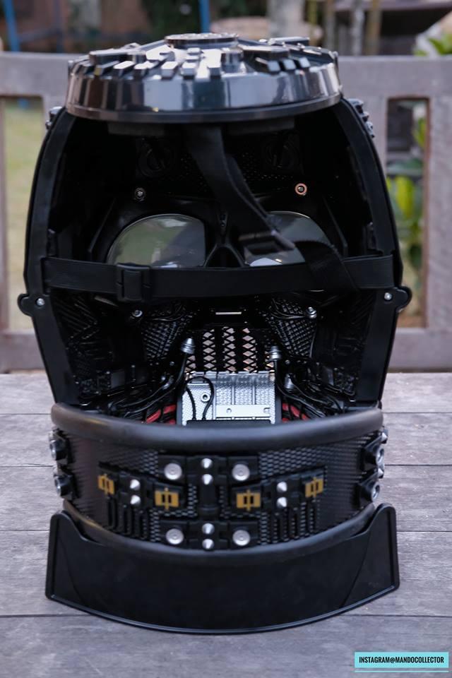 Casque Black Serie Vader 1:1 0ZpK2