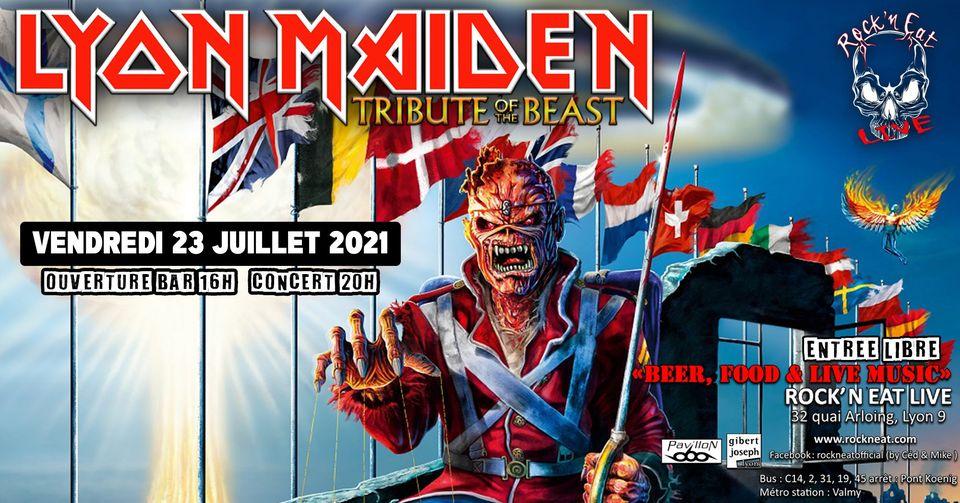 LYON MAIDEN [Lyon - 69] > 23-07-2021