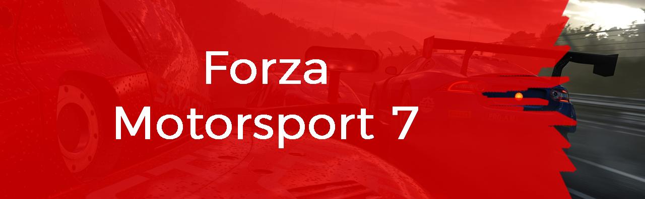 Couverture du pôle Forza Motorsport 7
