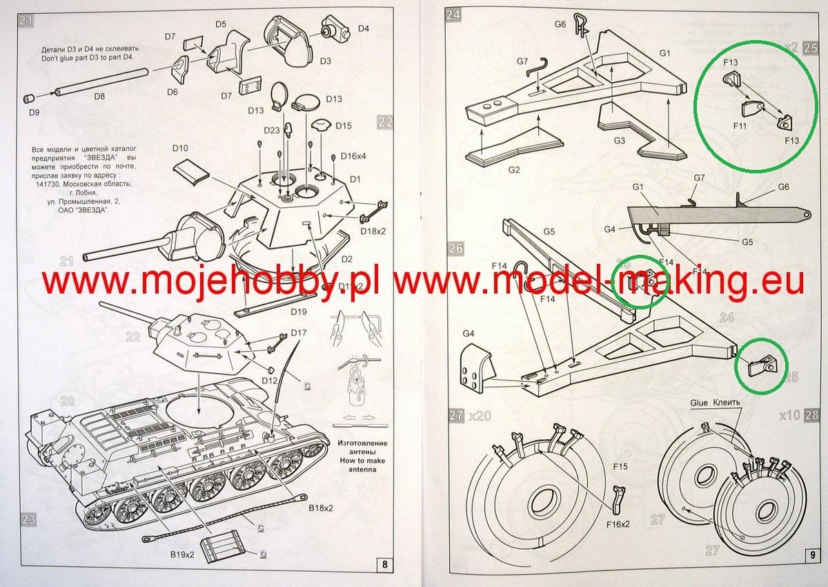T34/76 au 1/35ème de Tamiya - Page 3 0v7bw