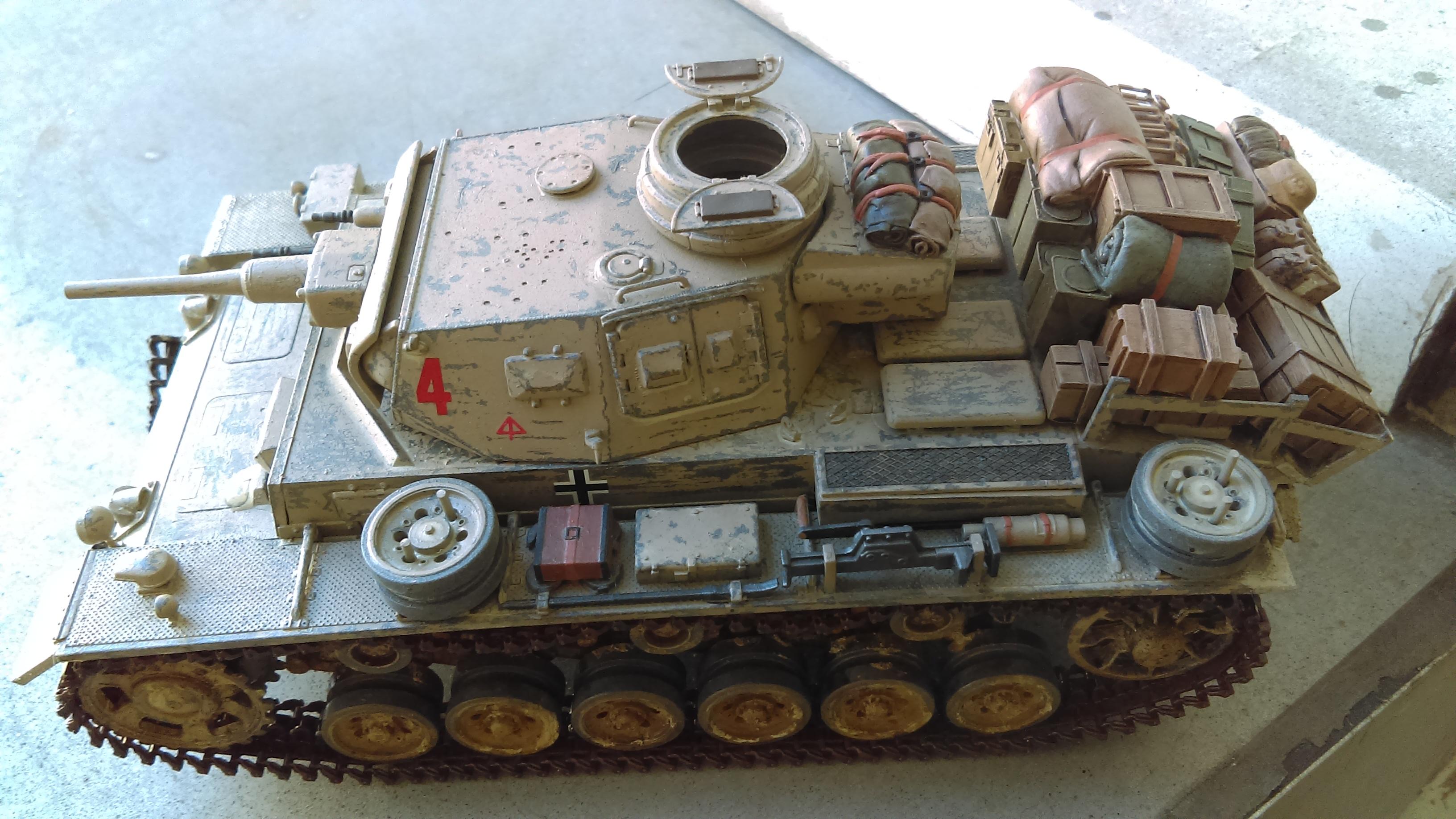 PANZER III J 5 cm KURTZ D.A.K 1/35 REVELL 133XE
