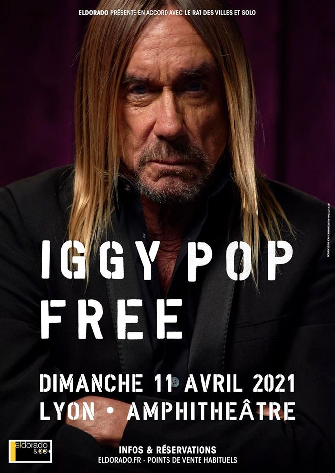 IGGY POP [Lyon - 69] > 11-04-2021