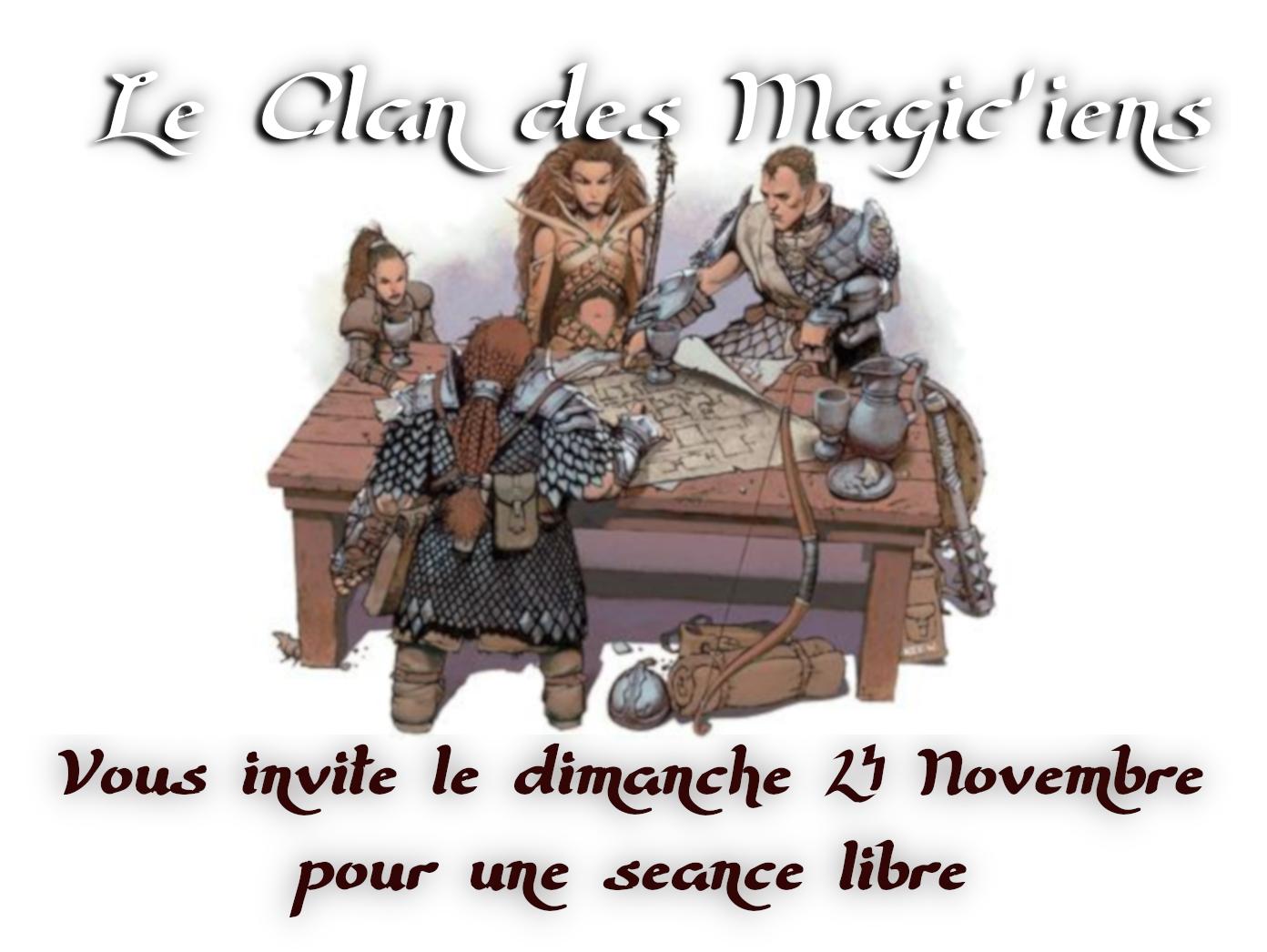 Dimanche 24 Novembre : Séance libre 1Oppw