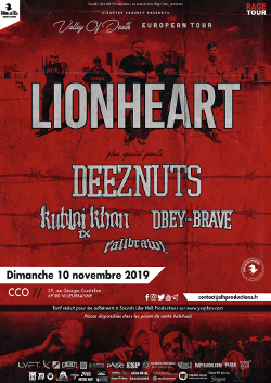 LIONHEART [Lyon - 69] > 10-11-2019