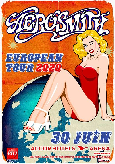 AEROSMITH [Paris - 75] > 30-06-2020