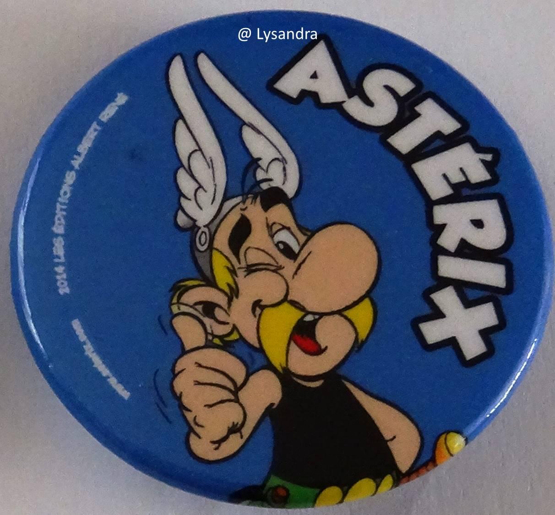 Badges Quick Astérix 2014 2AWN