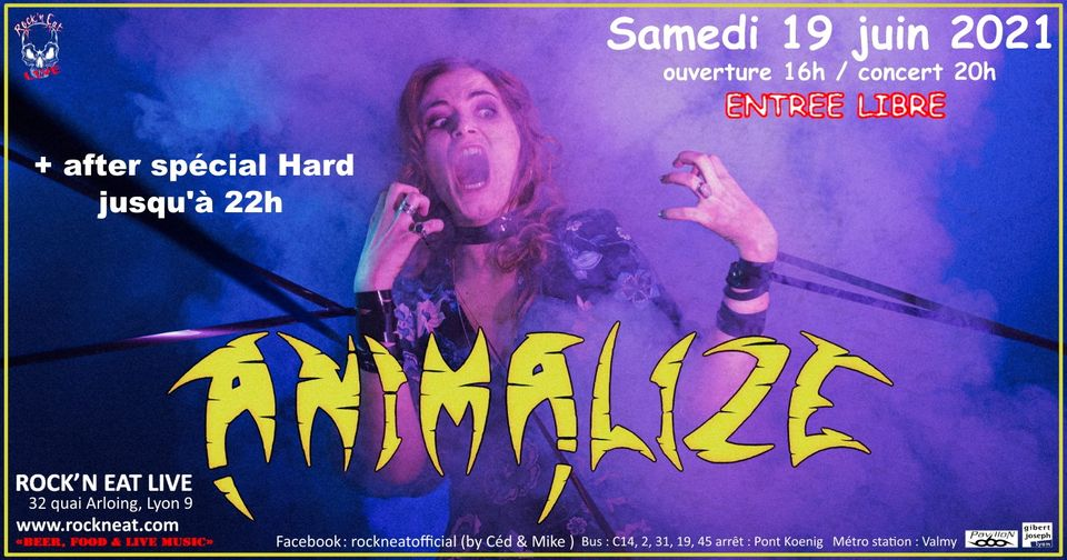 ANIMALIZE [Lyon - 69] > 19-06-2021