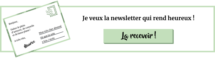 Recevoir la newsletter Heureux qui comme Maurice