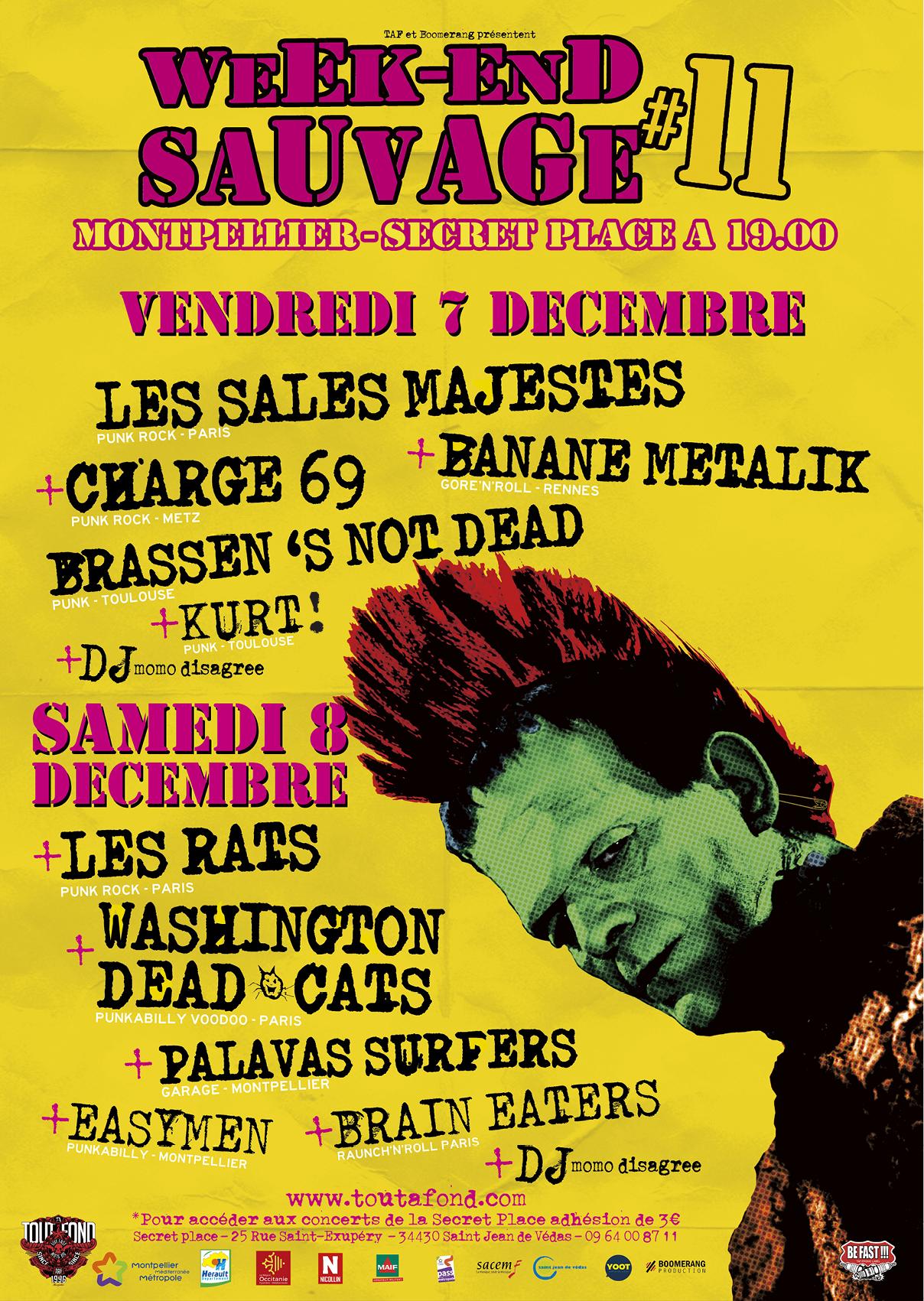 WEEK-END SAUVAGE [Montpellier - 34] > 07-12-2018