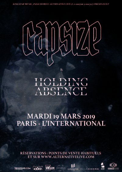CAPSIZE [Paris - 75] > 19-03-2019