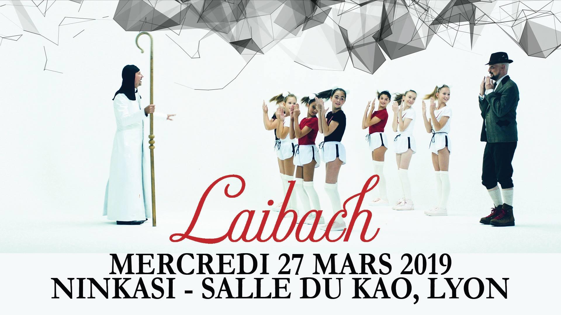 LAIBACH [Lyon - 69] > 27-03-2019