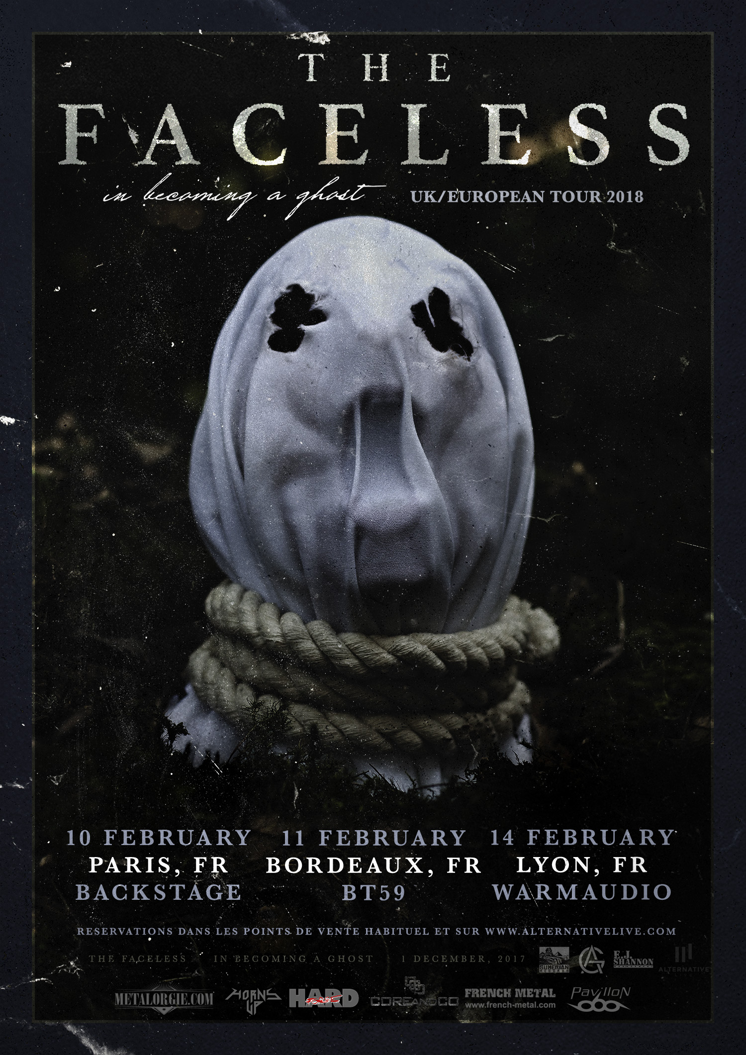 CONCOURS CONCERT : THE FACELESS