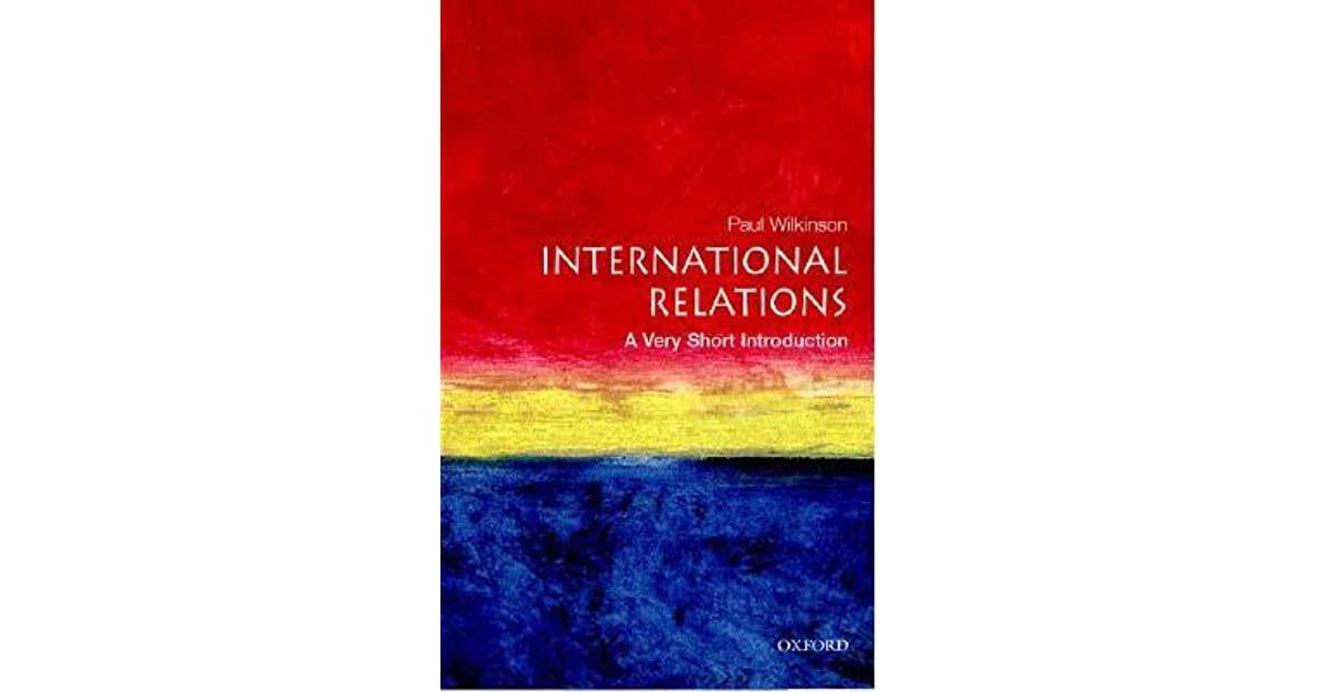العلاقات الدولية: مقدمة قصيرة جدًا