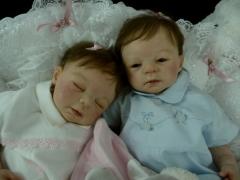 Reborn Teddy et Malya petits