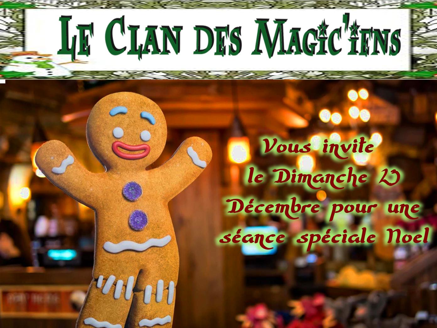 Dimanche 23 Décembre : Séance spéciale Noël à partir de 14 h 4X5ZL