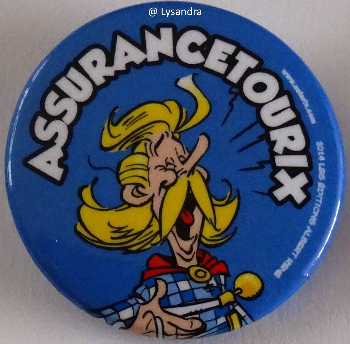 Badges Quick Astérix 2014 4Yvn