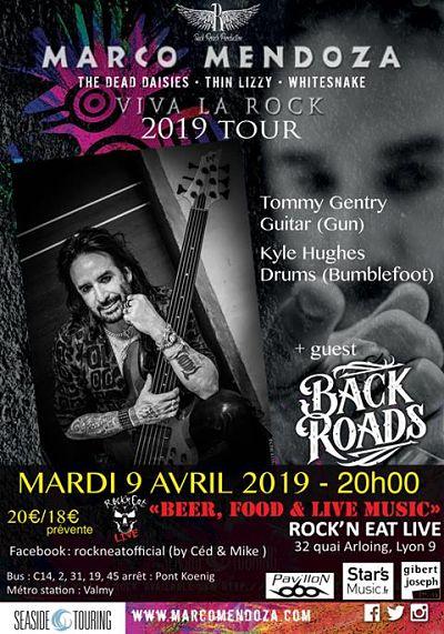 MARCO MENDOZA [Lyon - 69] > 09-04-2019