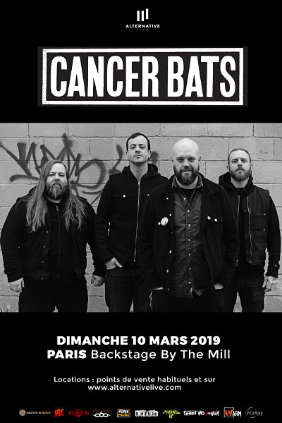 CANCER BATS [Paris - 75] > 10-03-2019