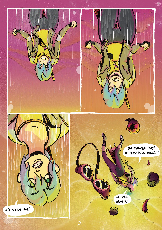 Projet BD SF/ Comics WEIRD 54R4G