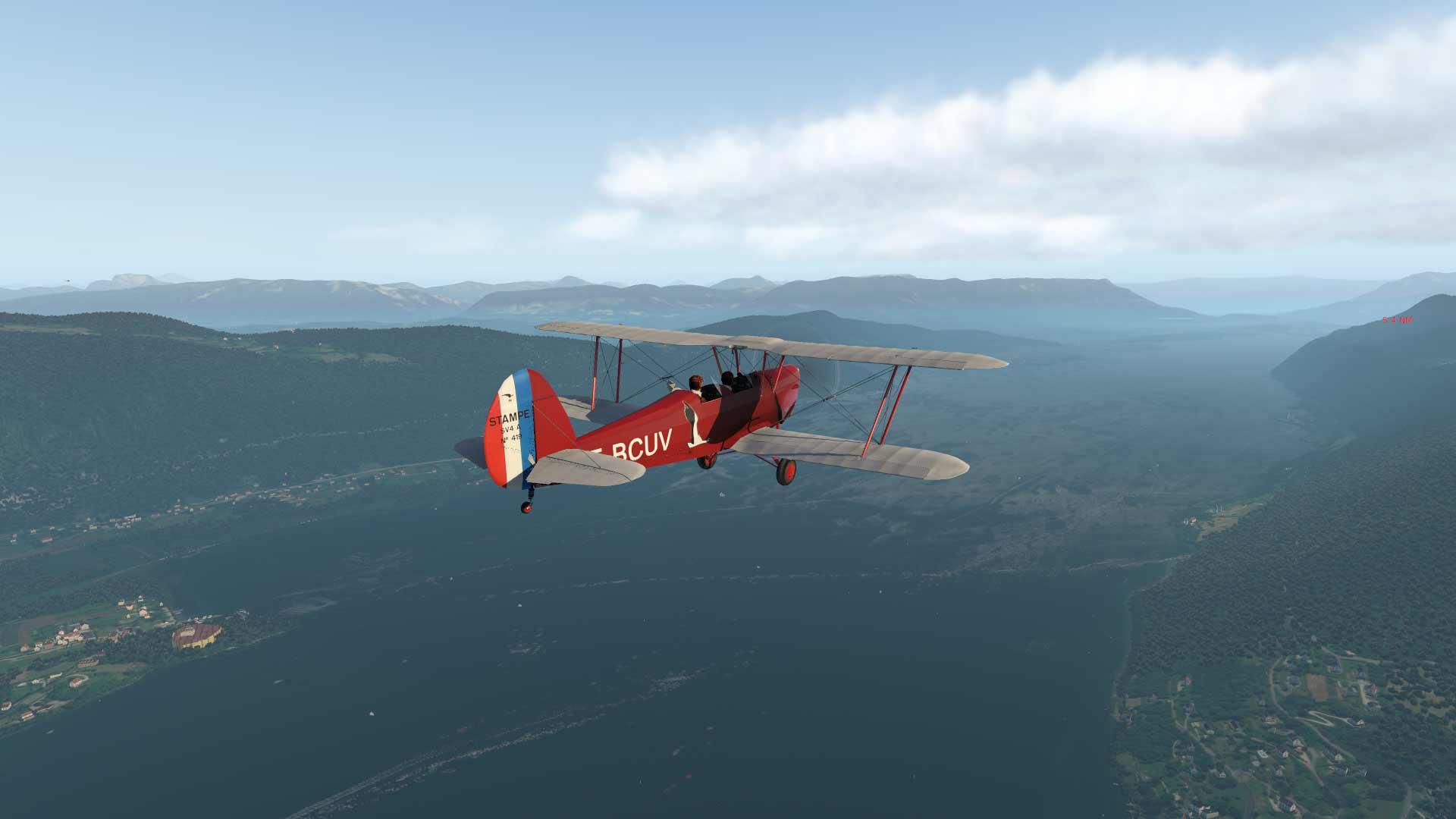 Macon / Grenoble VFR 5VJ9X