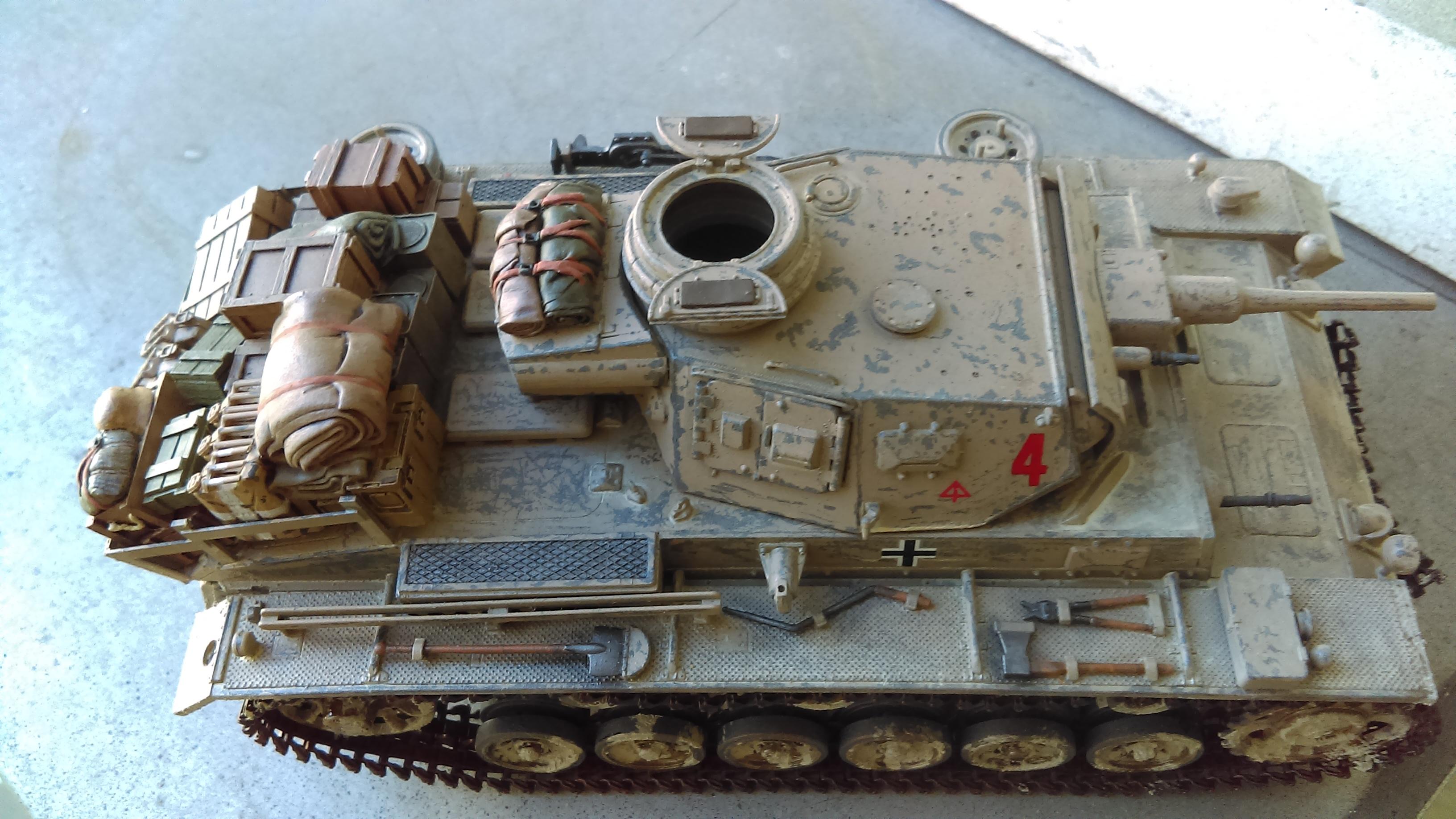 PANZER III J 5 cm KURTZ D.A.K 1/35 REVELL 5ee4b