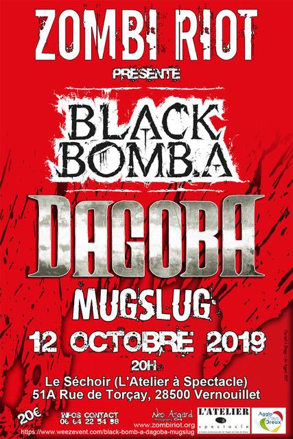 BLACK BOMB A [Dreux - 28] > 12-10-2019