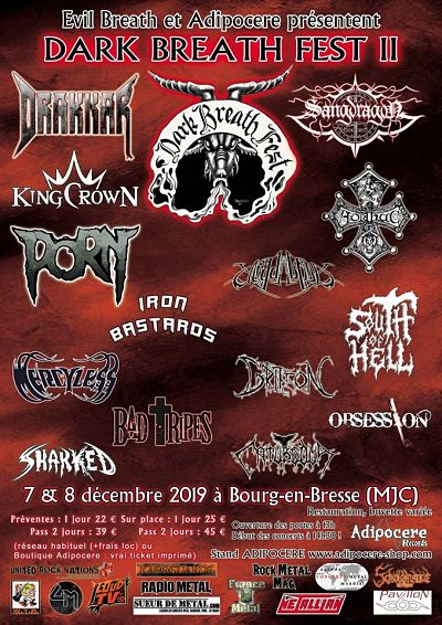 DARK BREATH FEST II [Bourg-En-Bresse - 01] > 07-12-2019