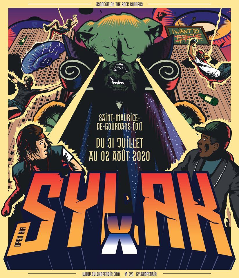 SYLAK OPEN AIR [St-Maurice de Gourdans - 01] > 31-07-2020