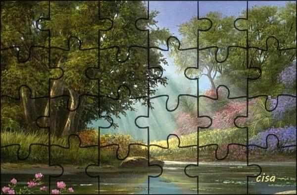 "N° 19 PFS "" Effet Puzzle "" 723Ll"