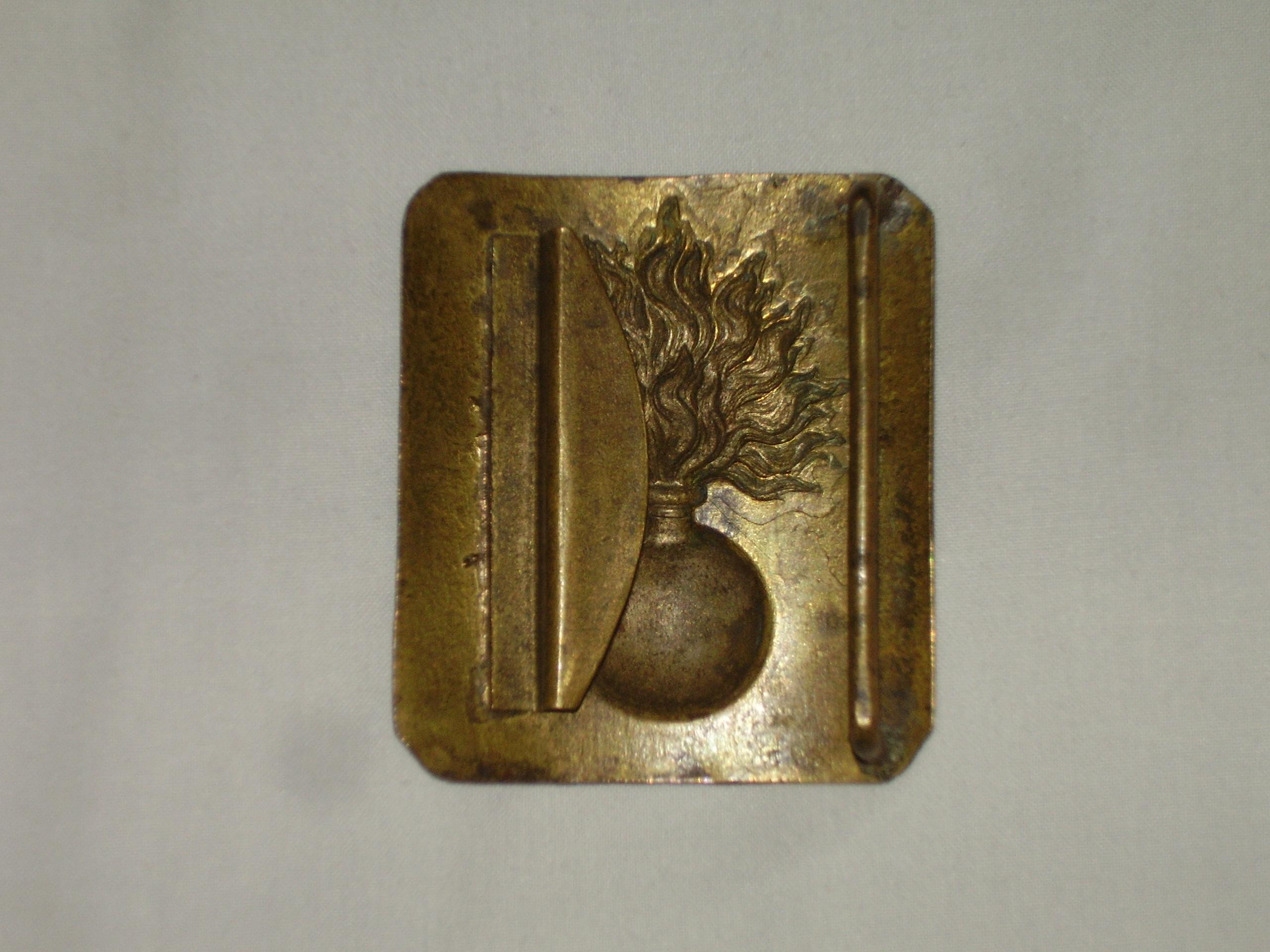 Identification plaque ceinturon Second Empire, 3ème République, quel modèle ? 753Ol