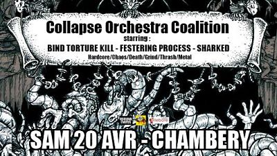 COLLAPSE ORCHESTRA COALITION [Chambéry - 73] > 20-04-2019
