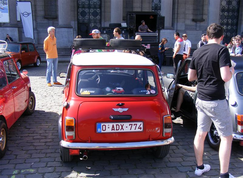 Autoworld - MINI Parade 22 avril 2019 0RdDD