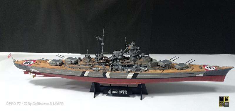 Tamiya Bismarck 1/350 par Guillaune.B ( montagemaquettefr) 0YkYy