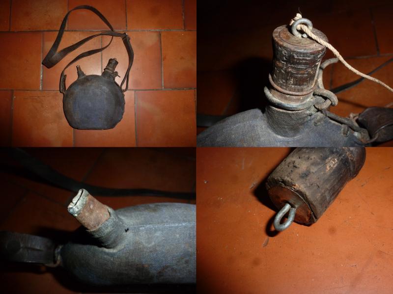 Petit bidon mle 1877 de circonstance avec forme atypique 0ol92