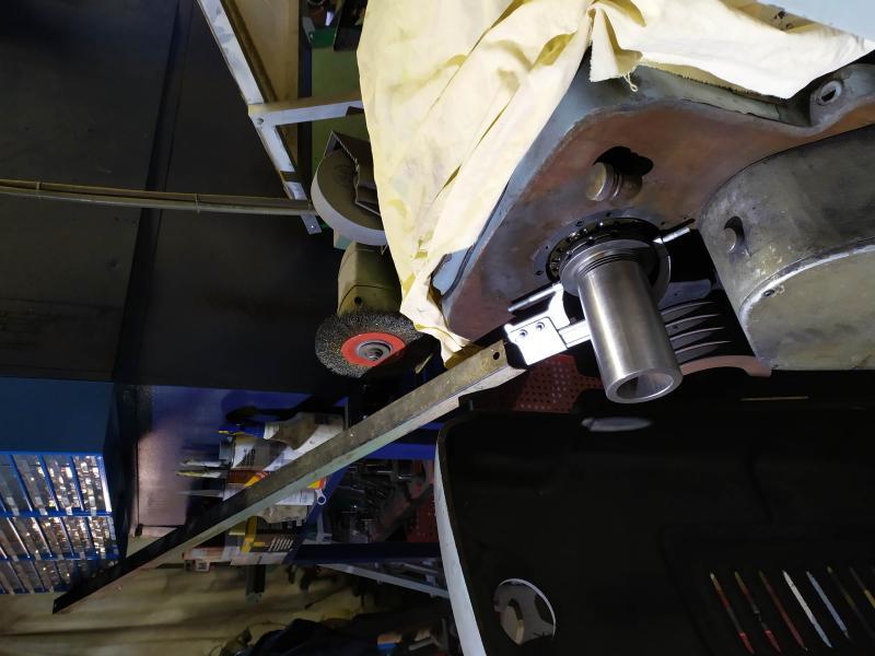Remplacement des roulements de broche sur tour Graziano SAG 508 1D3Eg