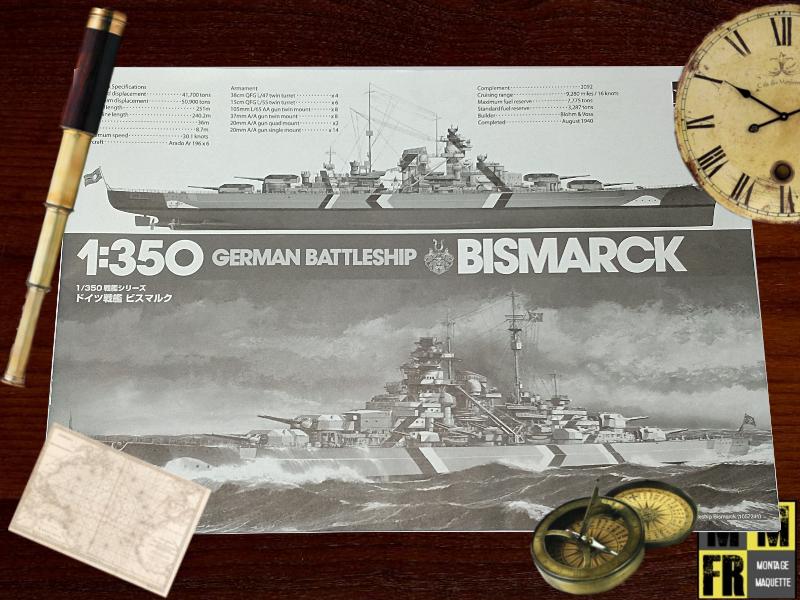 Bismarck 1/350 Tamiya  1WwWE