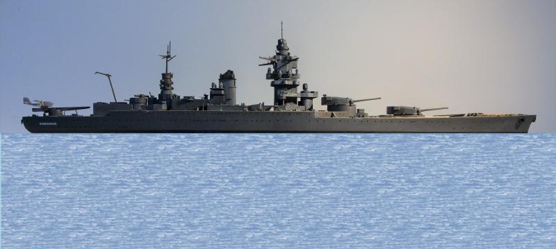 Cuirassé Dunkerque 1/400 2g2VA