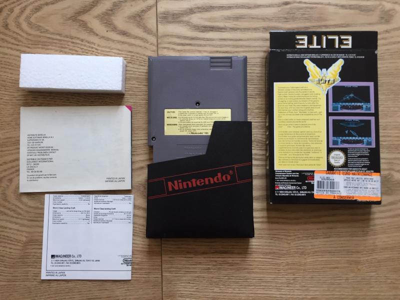 [EST] Eric Cantona, Elite et Firehawk complets sur NES + Ardy light foot Mint 2qPar