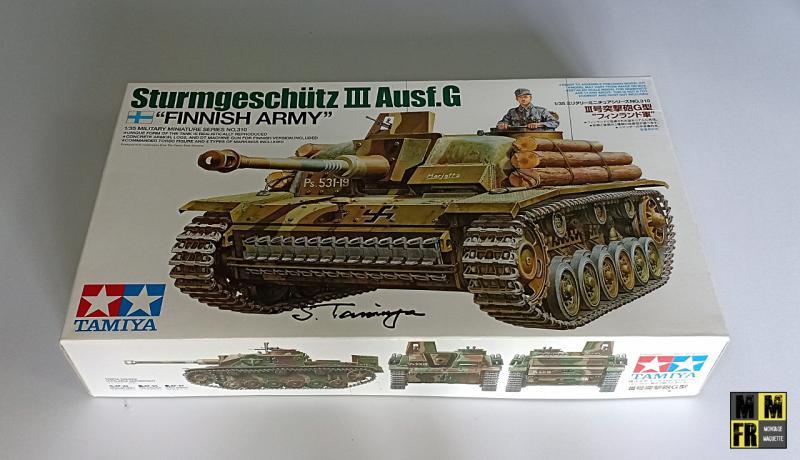 Tamiya Sturmgeschutz III - 1/35 3w45m
