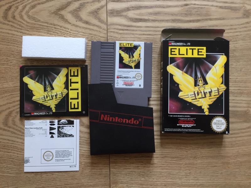 [EST] Eric Cantona, Elite et Firehawk complets sur NES + Ardy light foot Mint 4A2nL