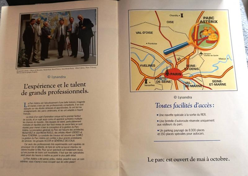 Dossiers / brochures / livres sur le Parc 4L3mP