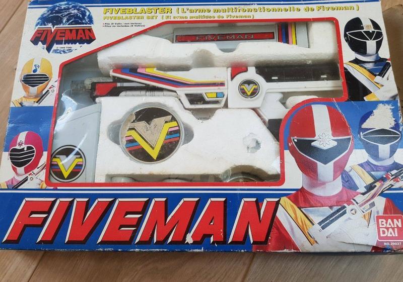 La gamme de jouets Fiveman - Bandai 4wZAj