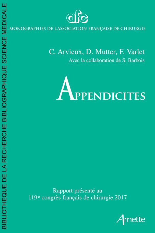 appendicites 119e congrès français de chirurgie 5Dr7g