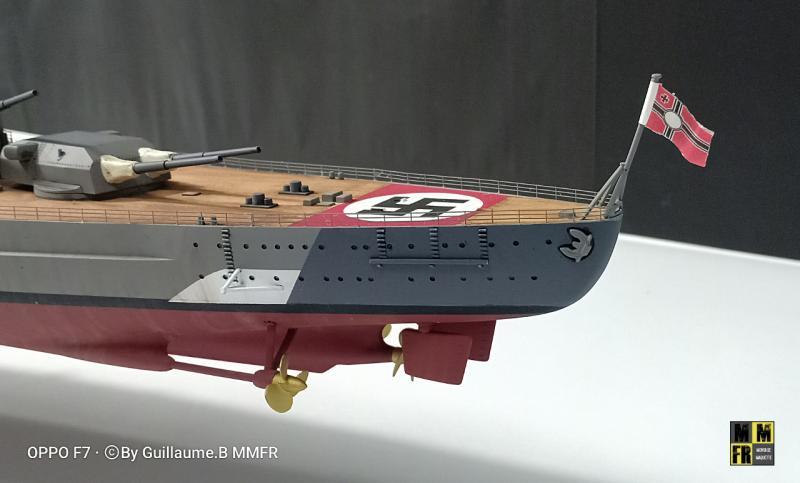 Tamiya Bismarck 1/350 par Guillaune.B ( montagemaquettefr) 7GeER