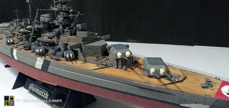 Tamiya Bismarck 1/350 par Guillaune.B ( montagemaquettefr) 8eXe0